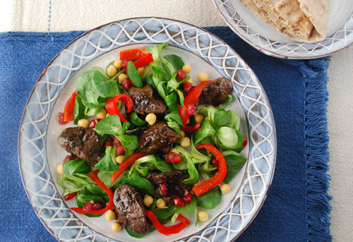 chicken-liver-salad