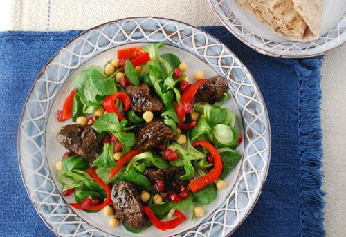 chicken-liver-salad