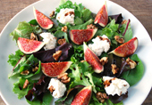 fig and goats cheese salad thumbnail