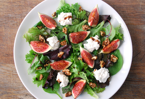 Fig, Goats Cheese And Walnut Couscous Salad Recipes — Dishmaps